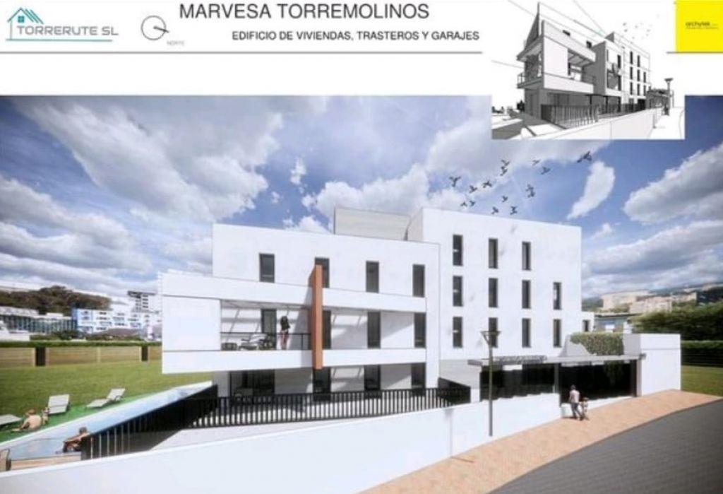 MARVESA: OBRA NUEVA! UN DORMITORIO CON GARAJE Y TRASTERO EN TORREMOLINOS